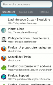 firefox beta android favoris 188x300 Firefox pour Android nouvelle version 14.0