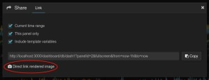grafana share dialog image highlight